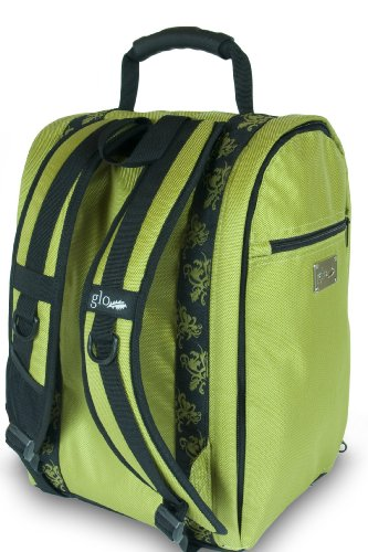 Glo Bag: Ladies Gym Locker Organizer Bag in Lime Green
