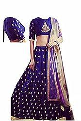 khazanakart women cotton designer bollywood style lehenga /partywear lehenga/heavy embroidered lehenga/lehenga choli