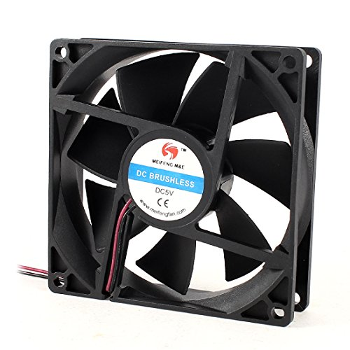 92Mm X 25Mm 9225 2Pin 5V Dc Brushless Computer Cpu Cooler Cooling Fan