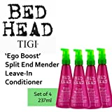 'Ego Boost' Split End Mender Leave-In Conditioner *Set of 4* by TIGI Bed Head (237ml each).
