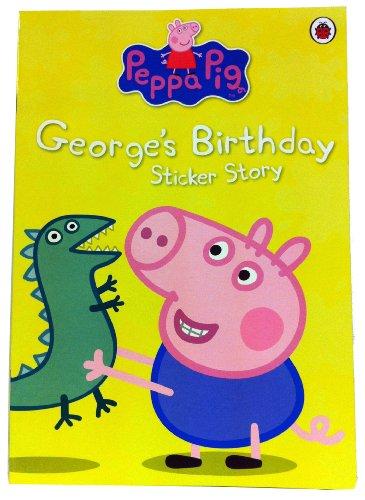 Peppa Pig: George's Birthday Sticker Book