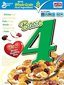 Basic 4 Cereal, 16-Ounce Boxes (Pack of 6)