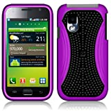 Samsuong Phone Cases for Samsung Fascinate i500, Purple/Black