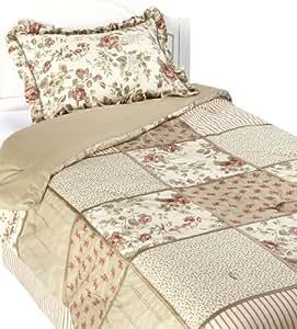 Laura Ashley, Glenmoore Collection, Comforter Set, Twin