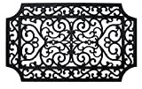 """J & M Home Fashions French Quarter Rubber Doormat, 18 by 30"""""""