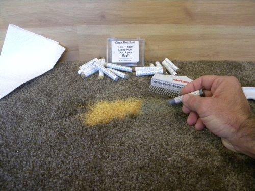 """Original Set""|great for dye carpet|carpet stain remover| by carpetdyesticks.com"