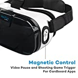 VR-Brille-HooToo-3D-VR-Box-mit-Magnetkontroller-Virtual-Reality-Brille-Headset-fr-47-6-Zoll-Handy
