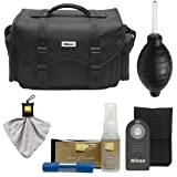 Nikon DSLR Camera Bag Case with ML-L3 Shutter Remote Bundle for D600, D7000, D5200, D5100 & D3200 Digital SLR Cameras