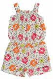 Calvin Klein Baby-girls Infant Flower Print Romper