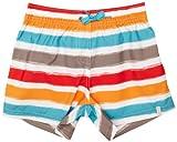 ESPRIT Bodywear Mädchen Badeshort, gestreift Z9061/HORIZON STR.YG, Gr. 164, Weiß (3)