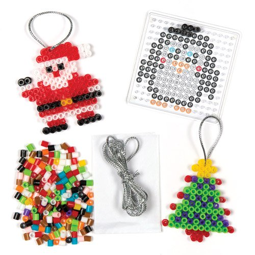 Christmas-Fuse-Bead-Hanging-Decoration-Kit-for-Children-to-Design-and-Iron-Make-Your-Own-Creative-Xmas-Toy-Set-for-Kids-Makes-6