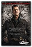 Inglourious Basterds Movie Poster - Speech Art Print Poster