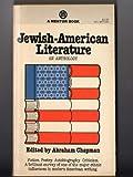 Jewish-American Literature: An Anthology.