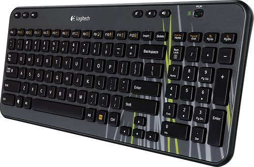 Wireless Keyboard Lag: Logitech K360 Wireless Keyboard with