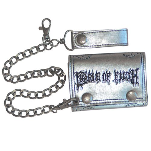 Cradle Of Filth - Silver Filth Leather Wallet