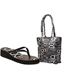 New Design Ladies Slipper With Ladies Bag Free