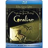 Coraline - Collector's Edition (Blu-ray Combo Pack (Blu-ray + DVD)) ~ Dakota Fanning