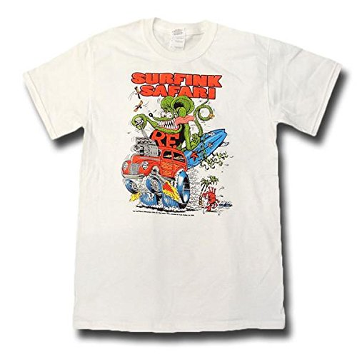 RATFINK ラットフィンク Surfink Safari Tシャツ S