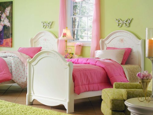 Opus Designs Madeline's World Twin Panel Bed