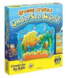 Creativity For Kids Growing Crystals Undersea World