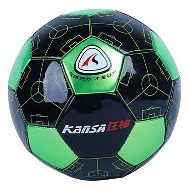 Zcl5# Pvc Professional Football (Yellow,Red,Green) , Green