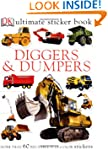 Ultimate Sticker Books Diggers Dumpers