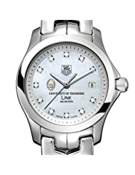 University of Tennessee TAG Heuer Watch - Women's Link with Mother of Pearl
