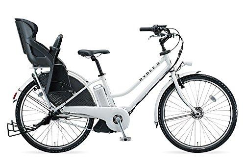 15年モデル ブリヂストン HYDEE.Ⅱ(ハイディツー) カラー:E.Xホワイト リヤチャイルドシート標準装備 HY685C-W タイヤサイズ:26インチ 8.7Ahリチウムイオンバッテリー搭載 専用充電器付