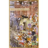 Akbar's adventures with the elephant Hawai, by Basawan and Chetar (V&A Custom Print)