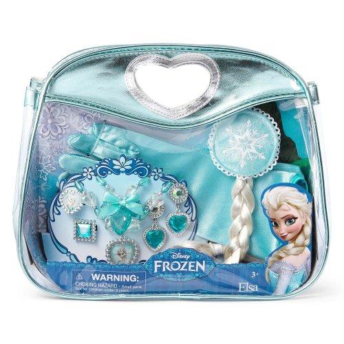 Disney Frozen Princess Elsa Jewelry, Hair Braid & Gloves