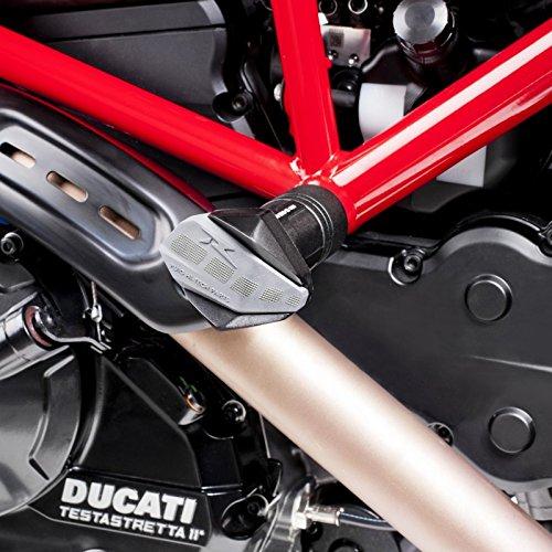Roulettes de protection Puig R12 Ducati Hypermotard 821/Hyperstrada 13-15 noir