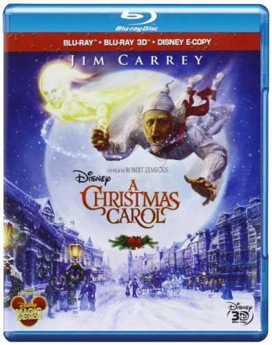 A Christmas Carol (2D + 3D) [Blu-ray] [IT Import]