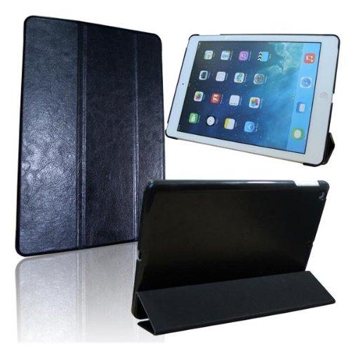 Jellybean Gorilla Schwarz PU ultra dünne Fall-Abdeckung für das neue iPad 2,3,4 Voll Schlaf-Spur-Funktion! Freier Schirm-Schutz
