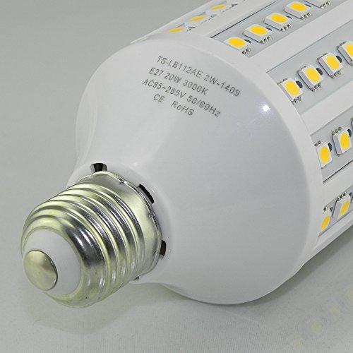 Tongsung nuova versione 20 watt lampadine a led pari a for Lampadine led 100 watt