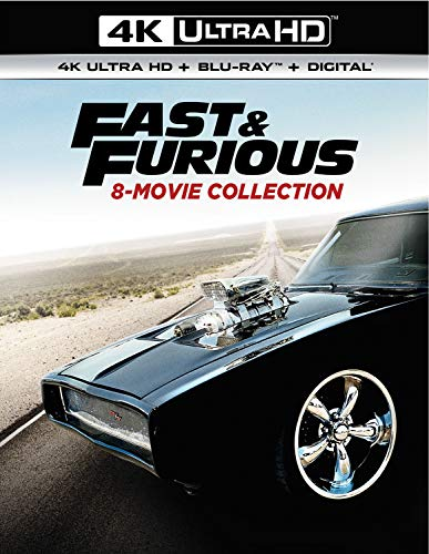 4K Blu-ray : Fast & Furious 8-movie Collection (17 Discos)