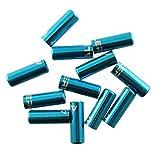 Alero Aluminum Housing End Caps Fits 5mm Brake Housing Blue for 10pcs