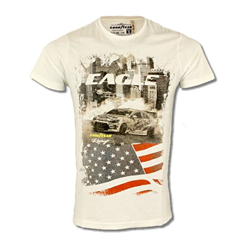 GOODYEAR -  T-shirt - Uomo bianco XX-Large
