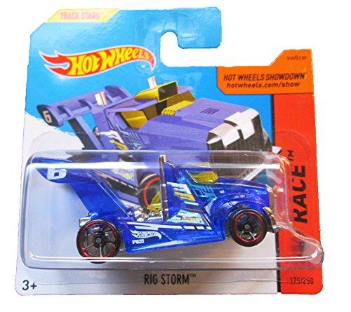 Hot Wheels - HW Race 175/250 - Rig Storm on Short Card - 1