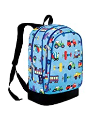 Wildkin Trains Planes Sidekick Backpack