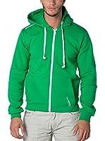 CANADIAN PEAK Sudadera con Cierre Fantasio (Verde)