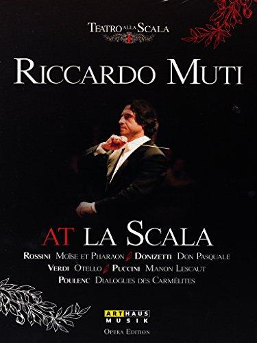 Riccardo Muti at La Scala (Moise et Pharao /Don Pasquale/Otello/Manon Lescaut/Dialogues des Carmélites) [6DVD]