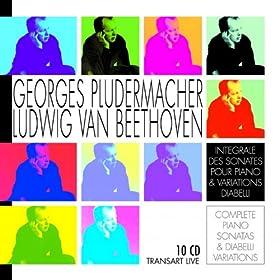 Beethoven : Int�grale des sonates pour piano & variations Diabelli - Complete piano sonatas & Diabelli variations