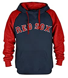 Clor Mens Boston Red Sox Super Athletic Pullover Hoodie - Royal Blue M