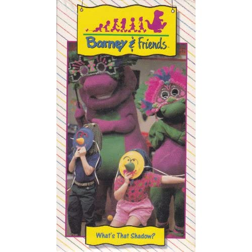 Amazon.com: What's That Shadow? Barney & Friends