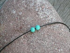 Bracelet lien Turquoises