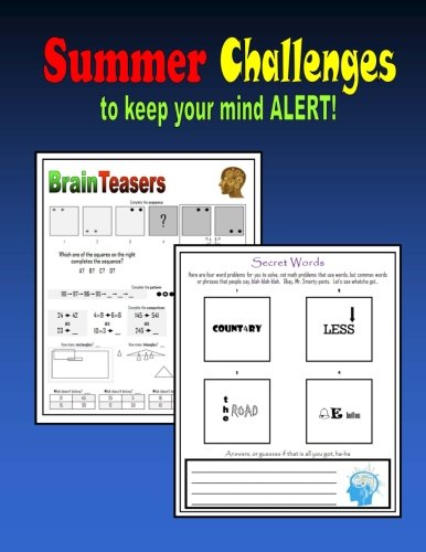 Summer Challenges to keep your mind ALERT!: a 10-week program