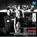 Shostakovich, Brahms & Dvorak - The American String Project, Live in Seattle 2008