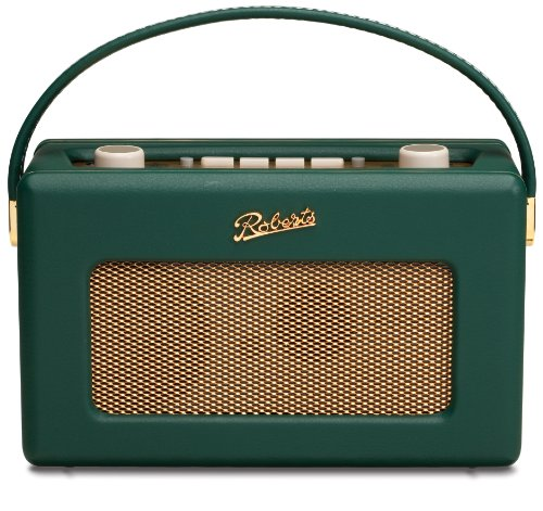 Roberts RD60 Revival DAB/FM RDS Digital Radio with Up to 120 Hours Battery Life - Green