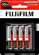 Comprar Fujifilm 4048347 - Pack de 4 pilas alcalinas (LR03, AAA, 1.5 V)
