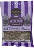 Sweetshop Chocolate Raisins 150 g (12 pieces)